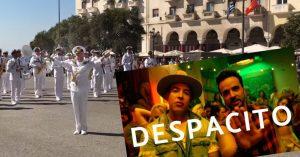 Άκουστε το Despacito από την μπάντα του Πολεμικού Ναυτικού!